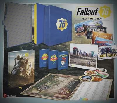 Платиновое издание Fallout 76 продается без самой игры