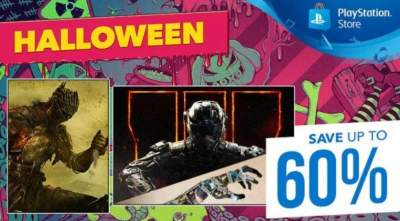Sony устроила распродажу игр к Хэллоуину