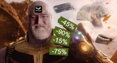 В Steam близятся масштабные распродажи