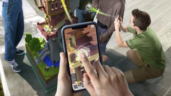 Анонсирована Minecraft Earth для мобильных устройств